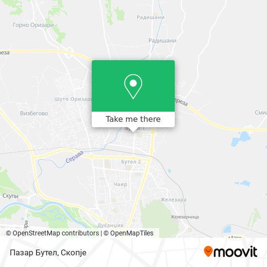 Пазар Бутел map