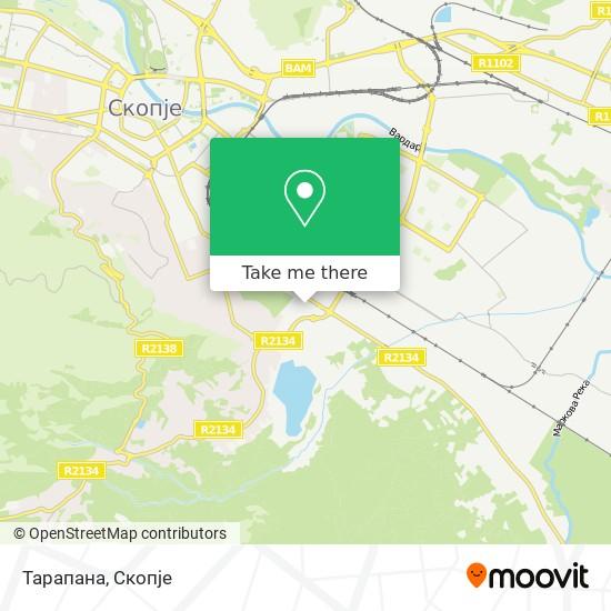 Тарапана map