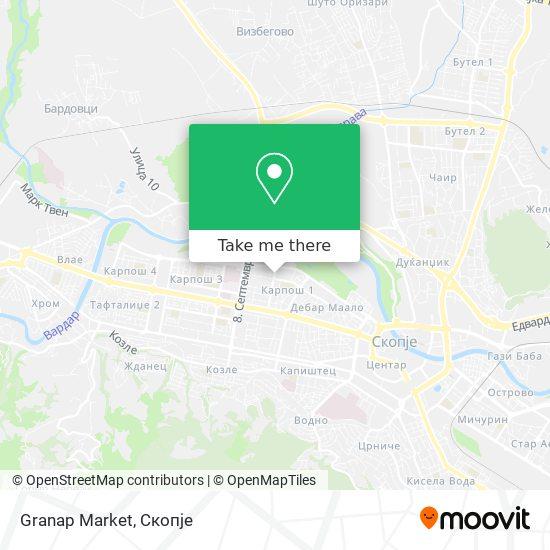 Granap Market map