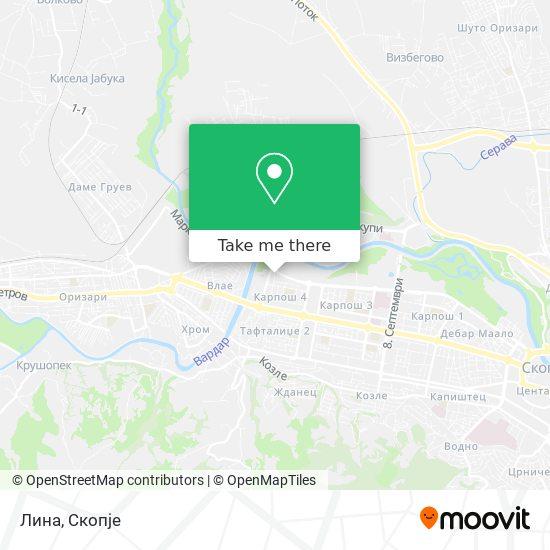 Лина map
