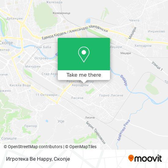 Игротека Be Happy map