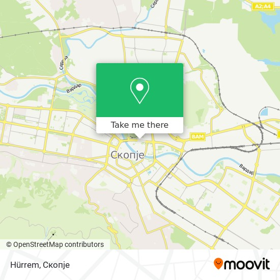 Менада map