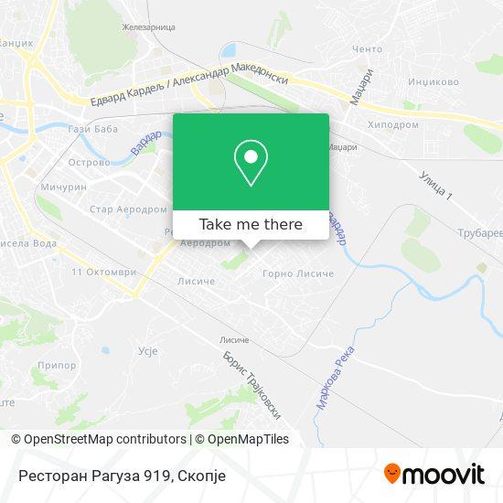 Ресторан Рагуза 919 map