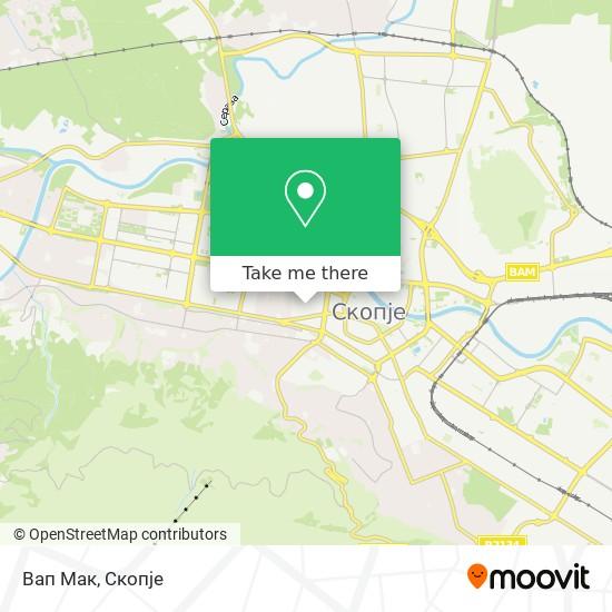 Вап Мак map