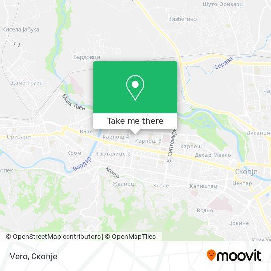 Vero map