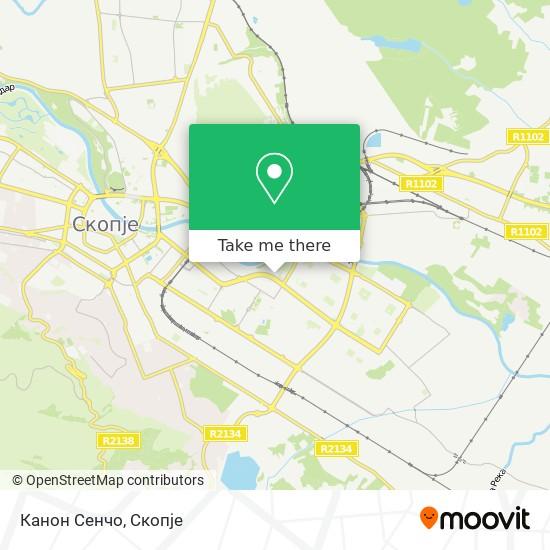 Канон Сенчо map