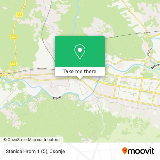 Stanica Hrom 1 (5) map