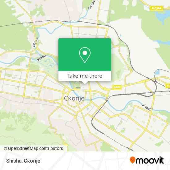 Shisha map