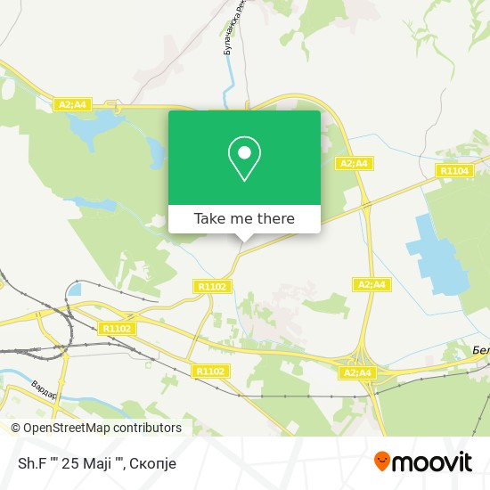"""Sh.F """""""" 25 Maji """""""" map"""