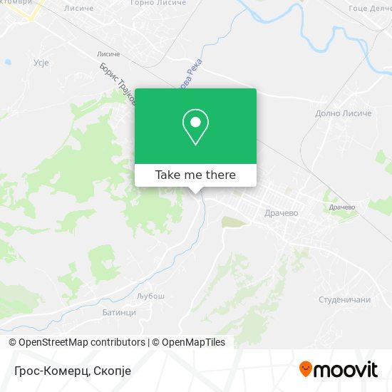 Грос-Комерц map