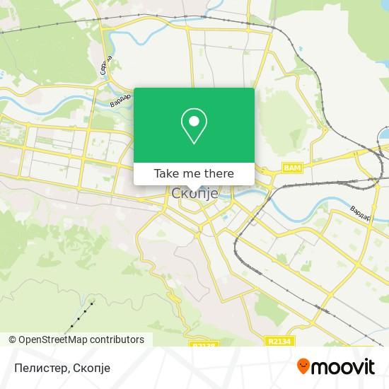 Pelister map