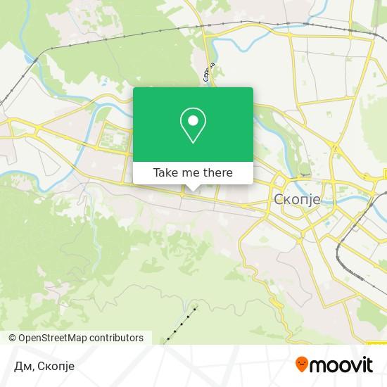 Дм map