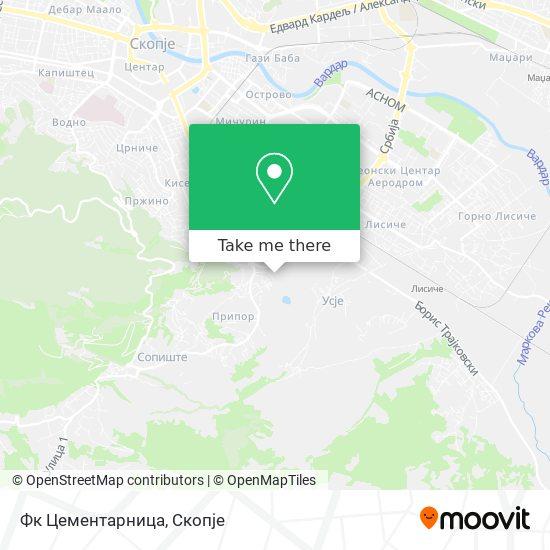 Фк Цементарница map