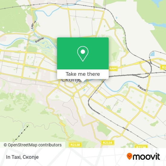 In Taxi map
