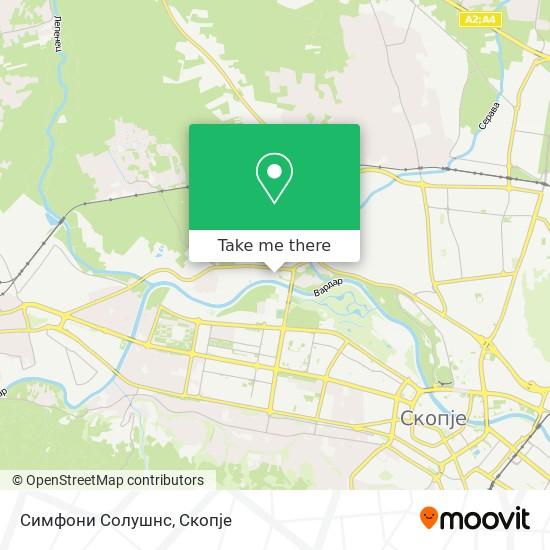 Symphony Solutions map