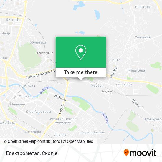 Електрометал map