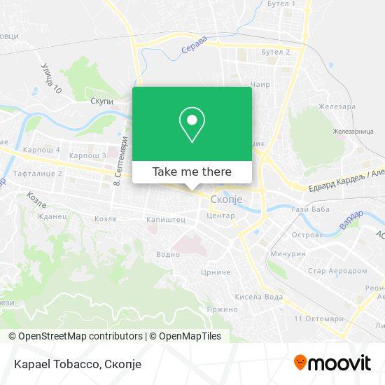 Kapael Tobacco map