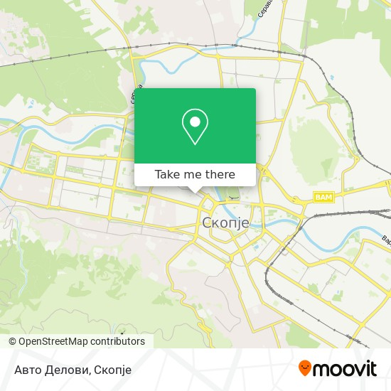 Авто Делови map