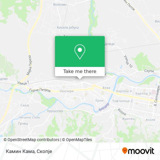 Камин Кама map