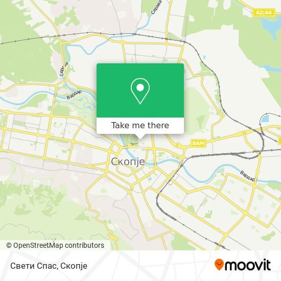 Свети Спас map