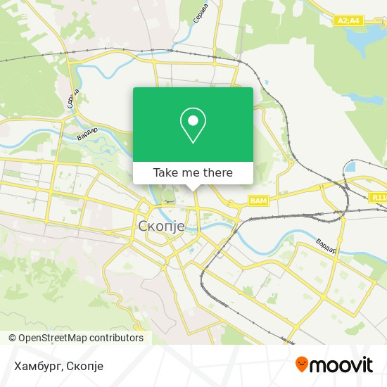 Хамбург map