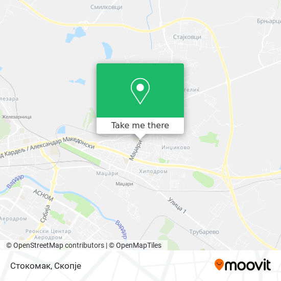 Стокомак map