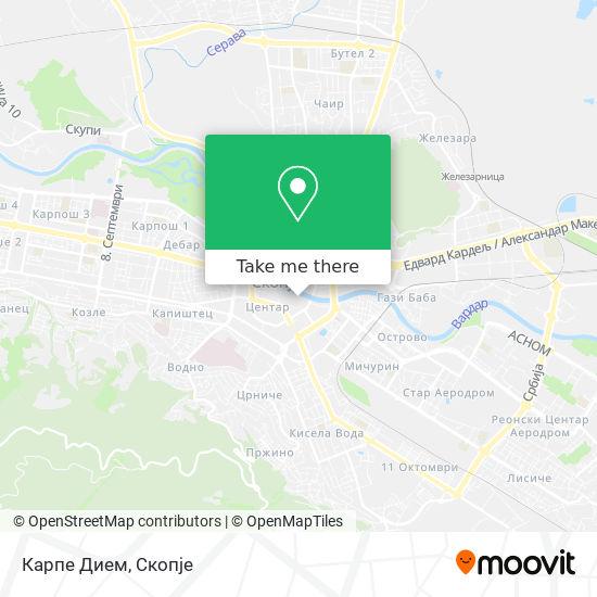 Carpe Diem map