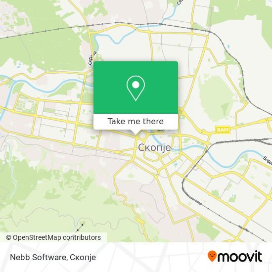 Nebb Software map