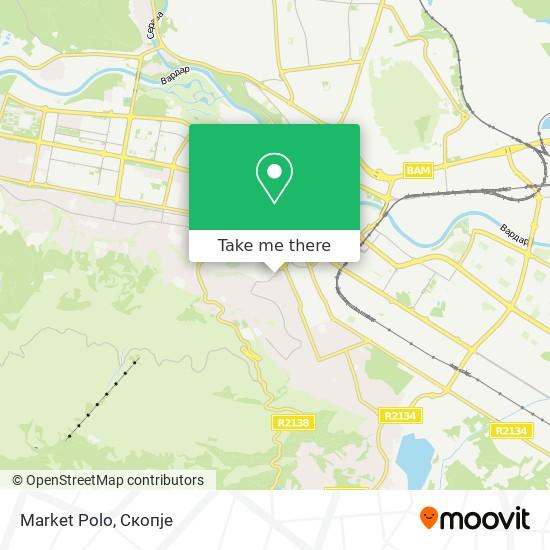 Market Polo map