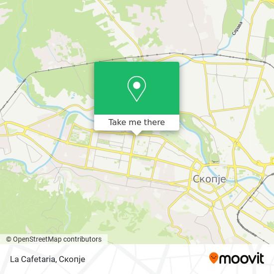 La Cafetaria map