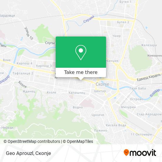 Geo Aprouzl map