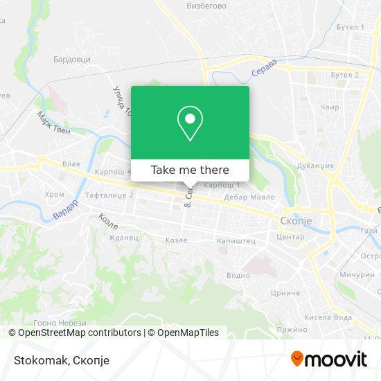 Stokomak map