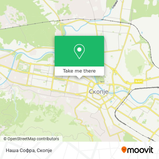 Наша Софра map