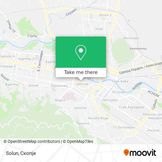 Solun map