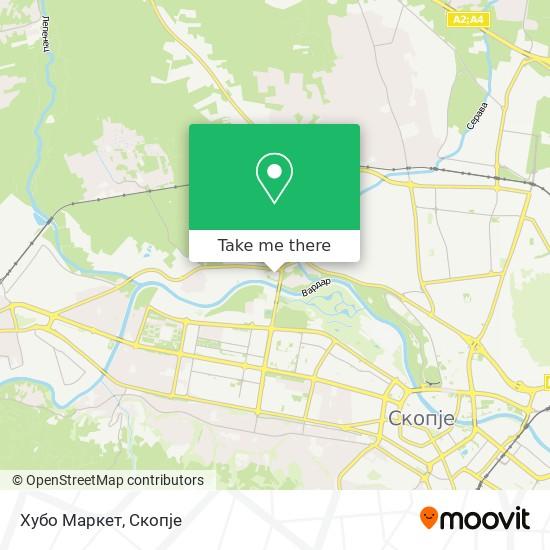 Хубо Маркет map