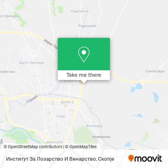 Институт За Лозарство И Винарство map