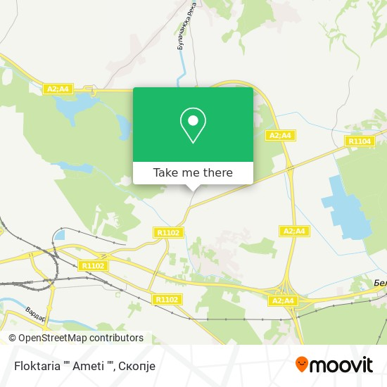 "Floktaria """" Ameti """" map"