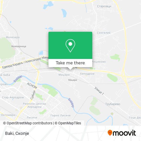 Baki map