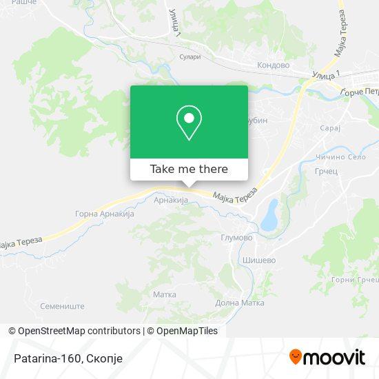 Patarina-160 map