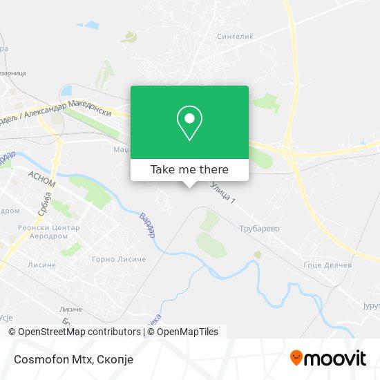 Cosmofon Mtx map