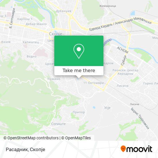 Расадник map