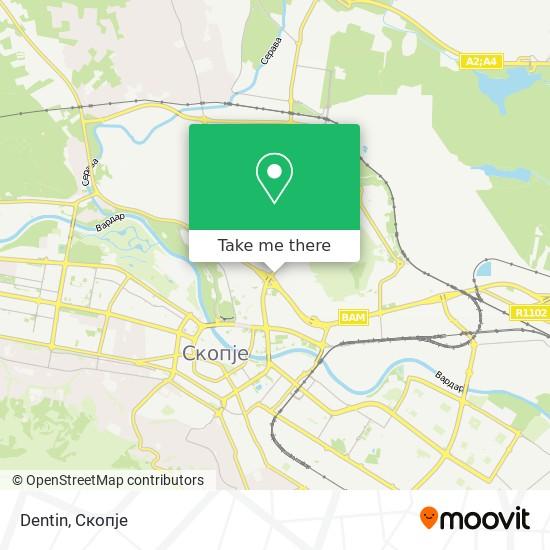 Dentin map