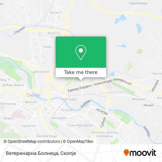 Ветеринарна Болница map