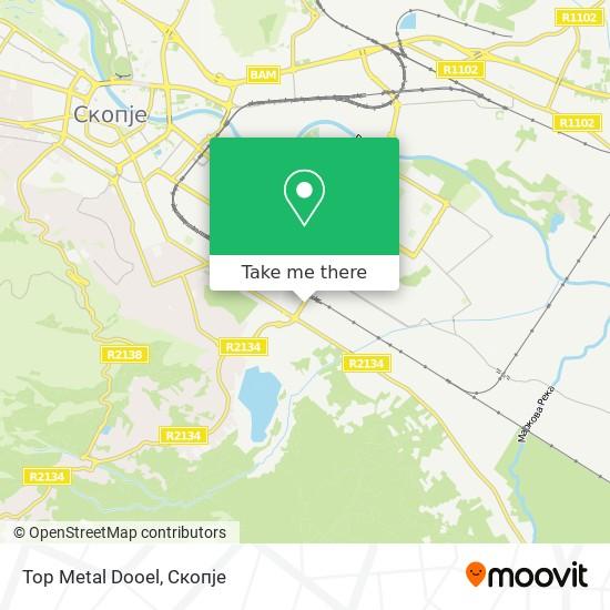 Top Metal Dooel map