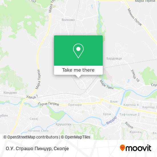 О.У. Страшо Пинџур map