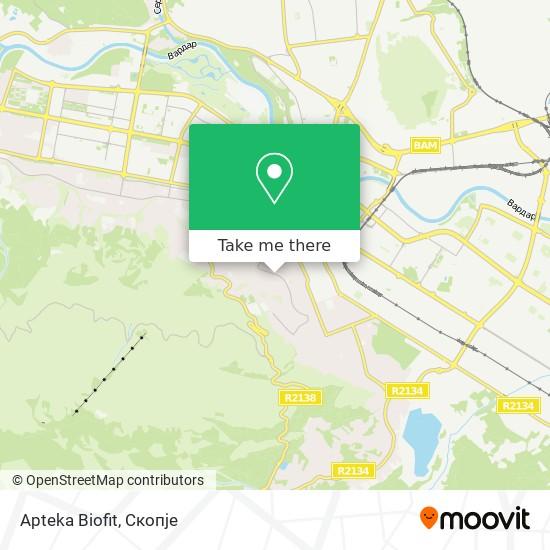 Apteka Biofit map