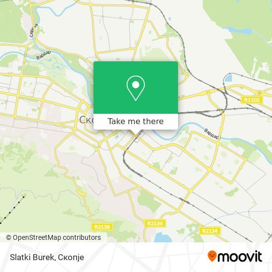 Slatki Burek map
