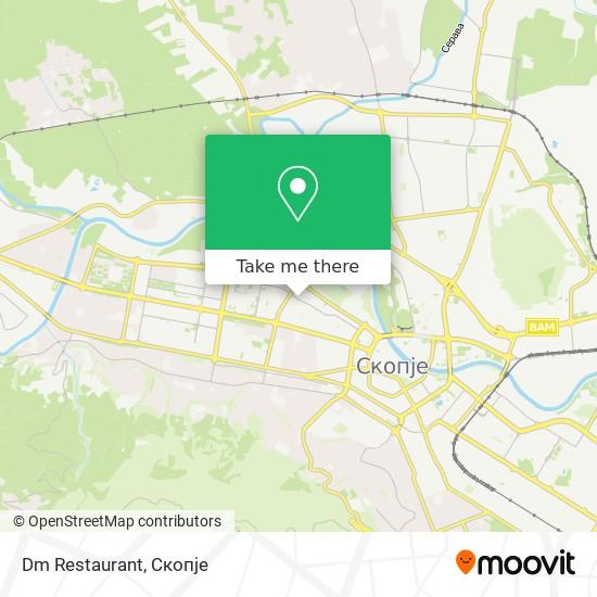 Dm Restaurant map