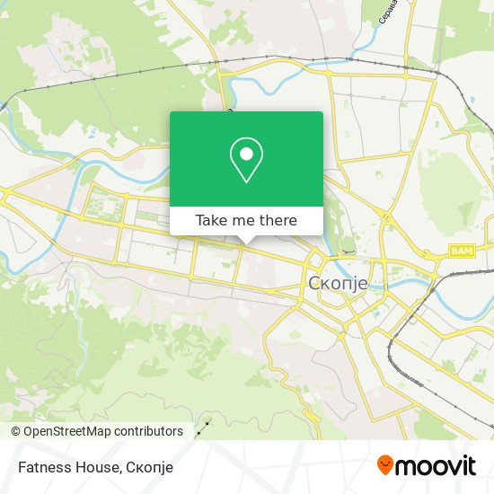 Fatness House map