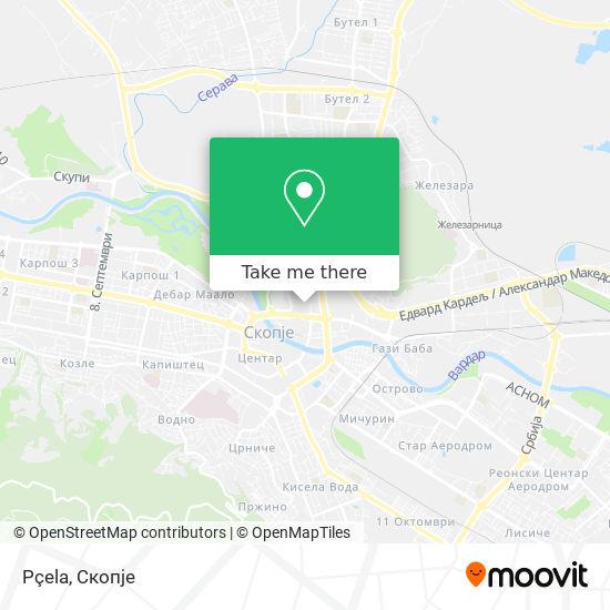 Pçela map